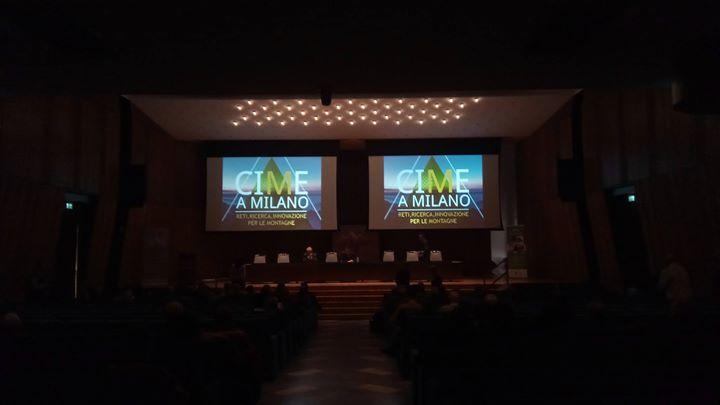 Oggi siamo all'evento CIME A Milano per continuare …